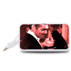 Gone with the Wind Portable Speaker (White)