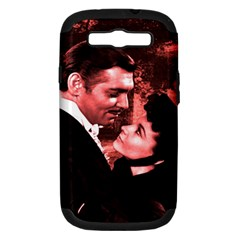 Gone with the Wind Samsung Galaxy S III Hardshell Case (PC+Silicone)