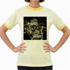 Angel Women s Fitted Ringer T-Shirts