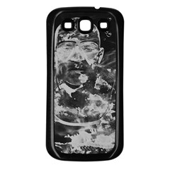 Angel Samsung Galaxy S3 Back Case (Black)