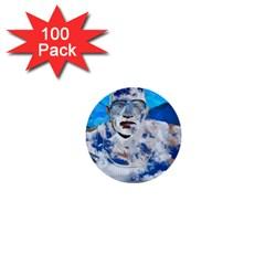Swimming angel 1  Mini Buttons (100 pack)
