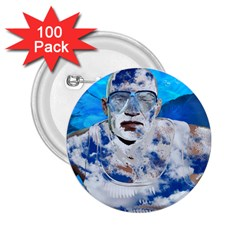 Swimming angel 2.25  Buttons (100 pack)