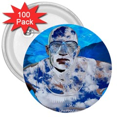 Swimming angel 3  Buttons (100 pack)