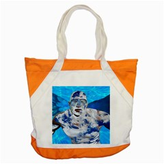 Swimming angel Accent Tote Bag