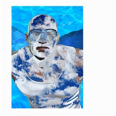 Swimming angel Large Garden Flag (Two Sides)