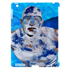 Swimming angel Apple iPad 3/4 Hardshell Case (Compatible with Smart Cover)