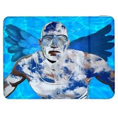 Swimming angel Samsung Galaxy Tab 7  P1000 Flip Case