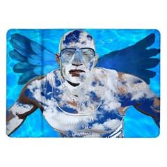 Swimming angel Samsung Galaxy Tab 10.1  P7500 Flip Case
