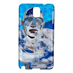 Swimming angel Samsung Galaxy Note 3 N9005 Hardshell Case