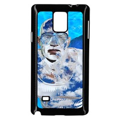 Swimming angel Samsung Galaxy Note 4 Case (Black)