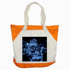 Blue angel Accent Tote Bag