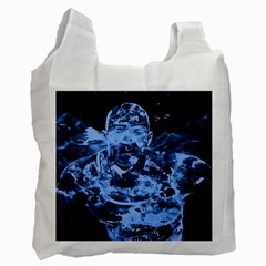 Blue angel Recycle Bag (Two Side)