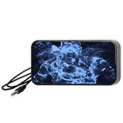 Blue angel Portable Speaker (Black)