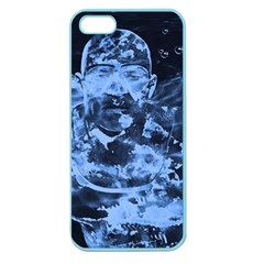 Blue angel Apple Seamless iPhone 5 Case (Color)