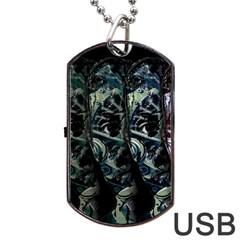 Cyber kid Dog Tag USB Flash (Two Sides)