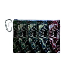 Cyber kid Canvas Cosmetic Bag (M)