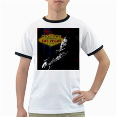 Elvis Presley - Las Vegas  Ringer T-Shirts