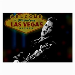 Elvis Presley - Las Vegas  Large Glasses Cloth