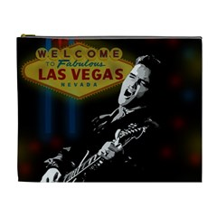 Elvis Presley - Las Vegas  Cosmetic Bag (XL)