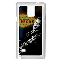 Elvis Presley - Las Vegas  Samsung Galaxy Note 4 Case (White)