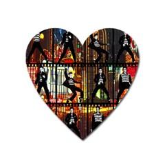 Elvis Presley - Las Vegas  Heart Magnet