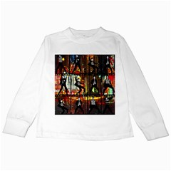 Elvis Presley - Las Vegas  Kids Long Sleeve T-Shirts