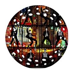 Elvis Presley - Las Vegas  Ornament (Round Filigree)