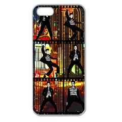 Elvis Presley - Las Vegas  Apple Seamless iPhone 5 Case (Clear)