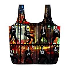 Elvis Presley - Las Vegas  Full Print Recycle Bags (L)