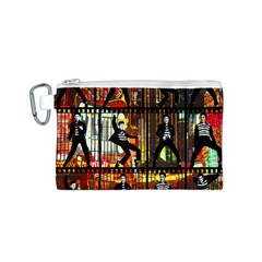 Elvis Presley - Las Vegas  Canvas Cosmetic Bag (S)