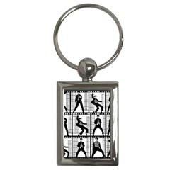Elvis Presley Key Chains (Rectangle)