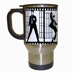 Elvis Presley Travel Mugs (White)
