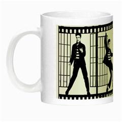 Elvis Presley Night Luminous Mugs