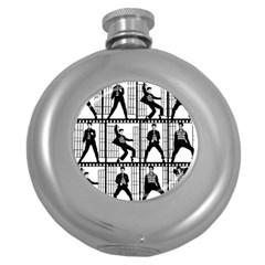 Elvis Presley Round Hip Flask (5 oz)