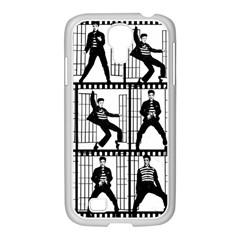Elvis Presley Samsung GALAXY S4 I9500/ I9505 Case (White)
