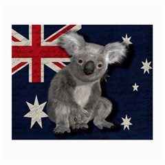Australia  Small Glasses Cloth