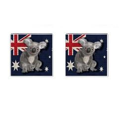 Australia  Cufflinks (Square)