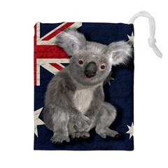 Australia  Drawstring Pouches (Extra Large)