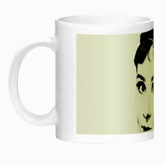 Audrey Hepburn Night Luminous Mugs