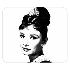 Audrey Hepburn Double Sided Flano Blanket (Small)