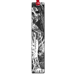 Gray girl  Large Book Marks