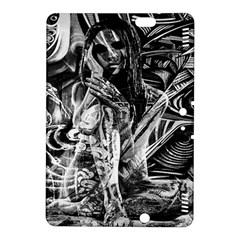Gray girl  Kindle Fire HDX 8.9  Hardshell Case