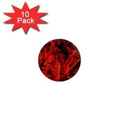 Red girl 1  Mini Magnet (10 pack)