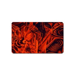 Red girl Magnet (Name Card)