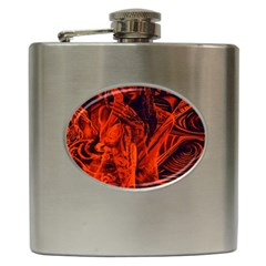 Red girl Hip Flask (6 oz)