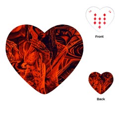 Red girl Playing Cards (Heart)