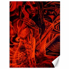 Red girl Canvas 36  x 48