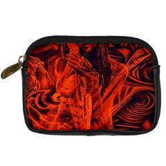 Red girl Digital Camera Cases