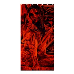 Red girl Shower Curtain 36  x 72  (Stall)