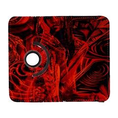 Red girl Galaxy S3 (Flip/Folio)